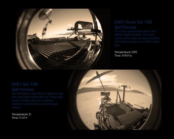 Sol 138 Fish Eye 2 views